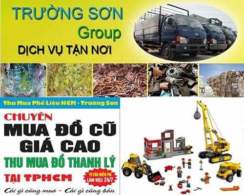 Mua phế liệu công nghiệp tại Huyện Hóc Môn