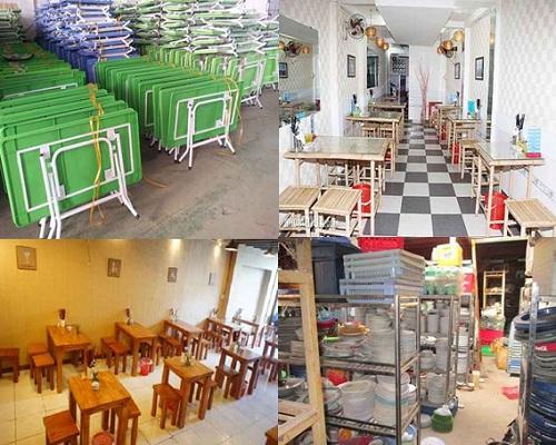 Thu mua hàng thanh lý quán ăn tại Quận Gò Vấp