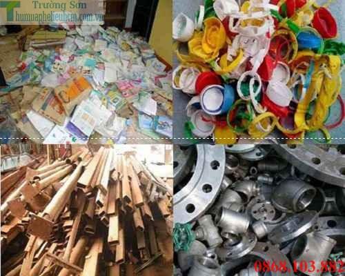Thu mua phế liệu giá cao tại Huyện Củ Chi