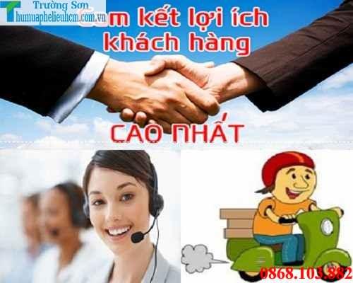 Thu mua phế liệu tận nơi giá cao nhất tại Huyện Bình Chánh